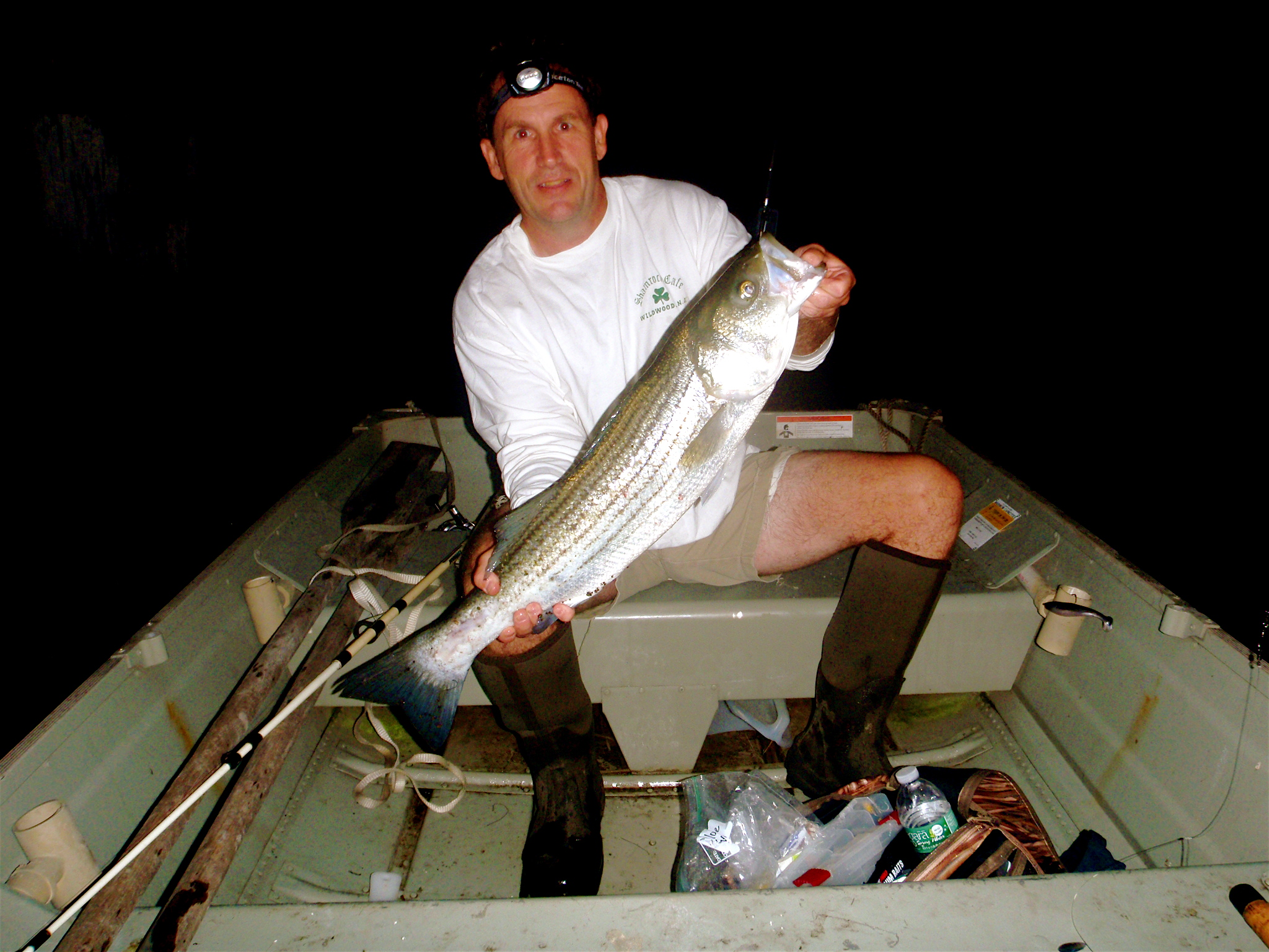 Cape may fishing report back bay stripers for Cape may fishing report