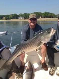 Tim's 30 lb. Striped Bass