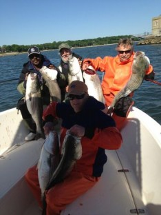 Don, Tom, Ron and Donny with Nice Bass