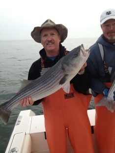 Joe's 1st Striper of the day !!!