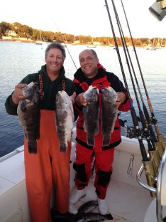 Skip and Chris with some nice Tog !!!