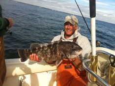 Capt Skip with a 10 lb. 3 oz. Slob in fall