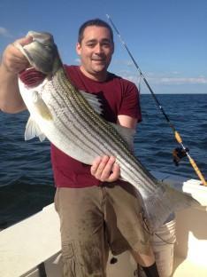 Joe Sweet with a 25 lb. class Fish