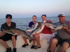 Mark, Tim, Andy and Butch with their Catch !!!