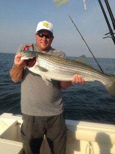 Butch with a nice Striper