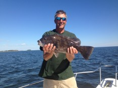 Pre fish catch and release Action for Tog