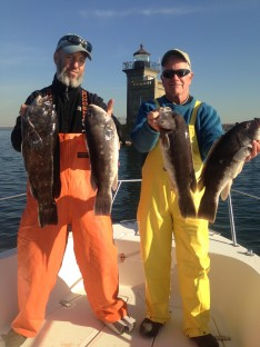 Adam and Hank with some of their catch !!!