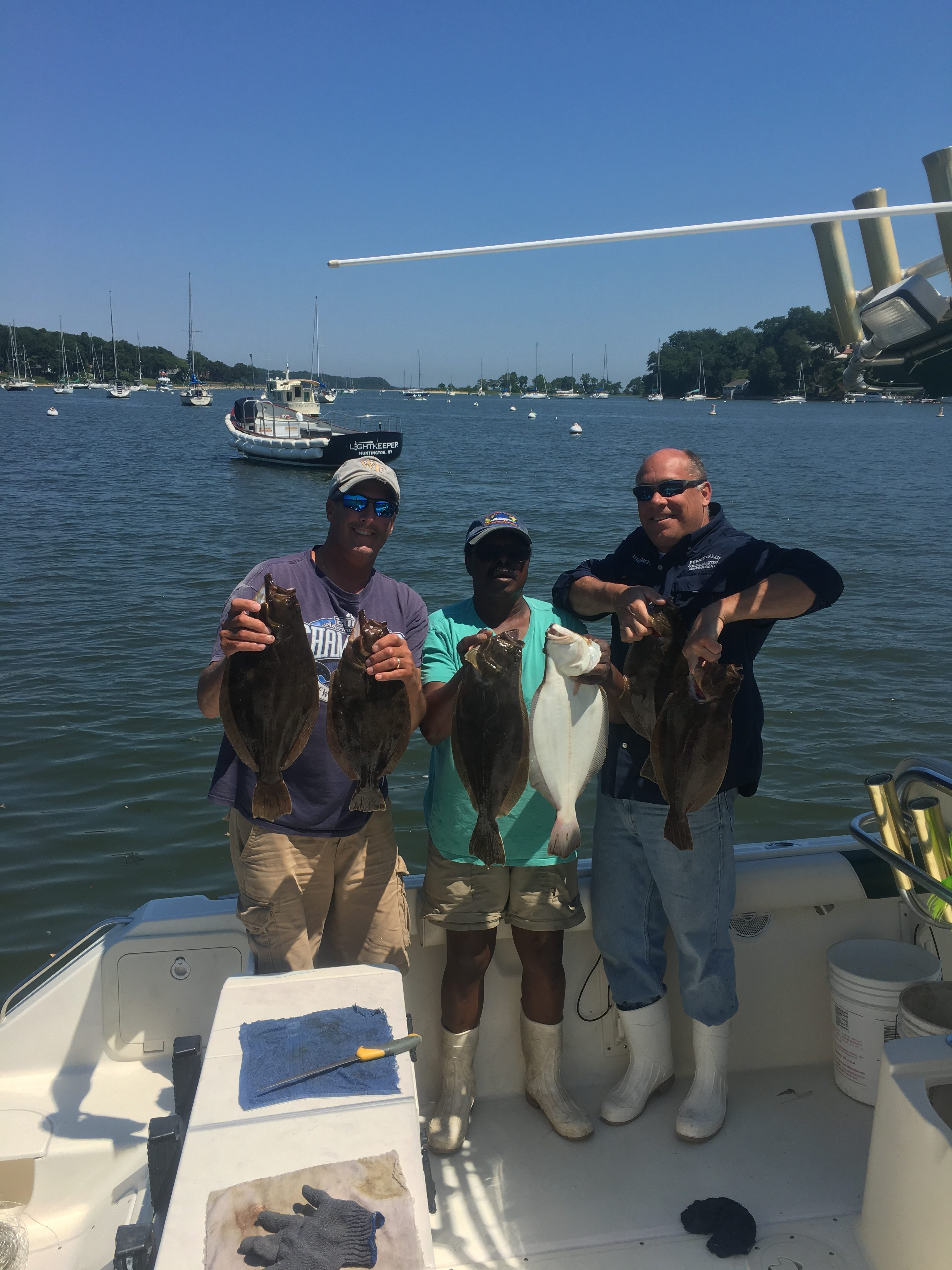 New york fishing report team combo fluke and bass for Fishing report ny